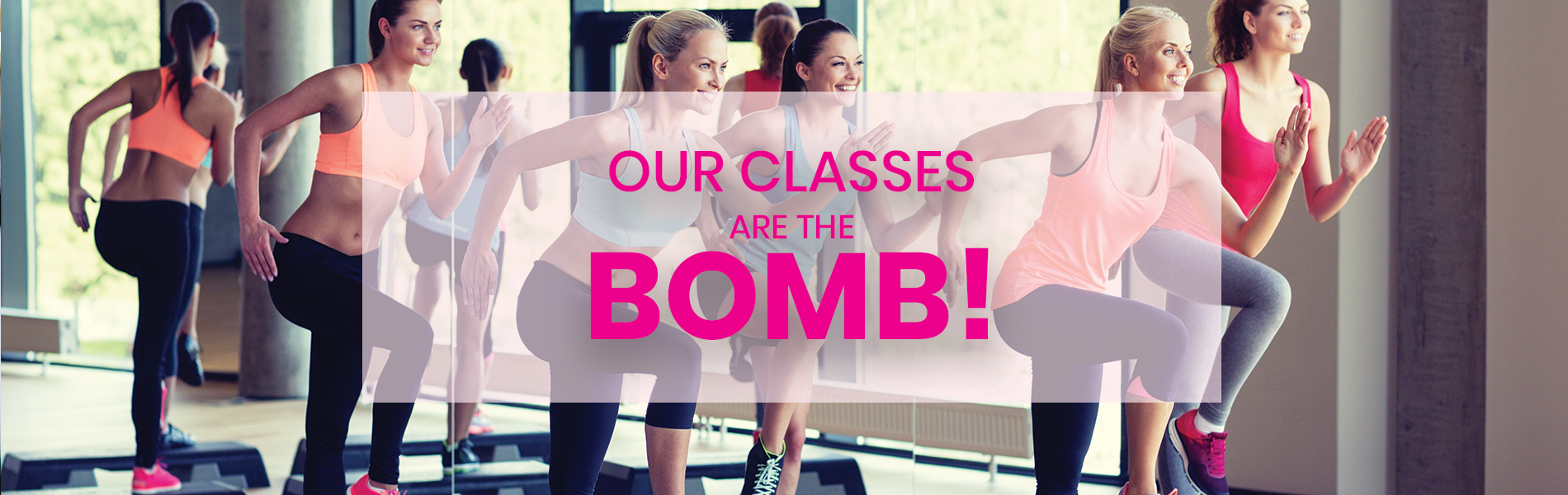 Our classes are the bomb!